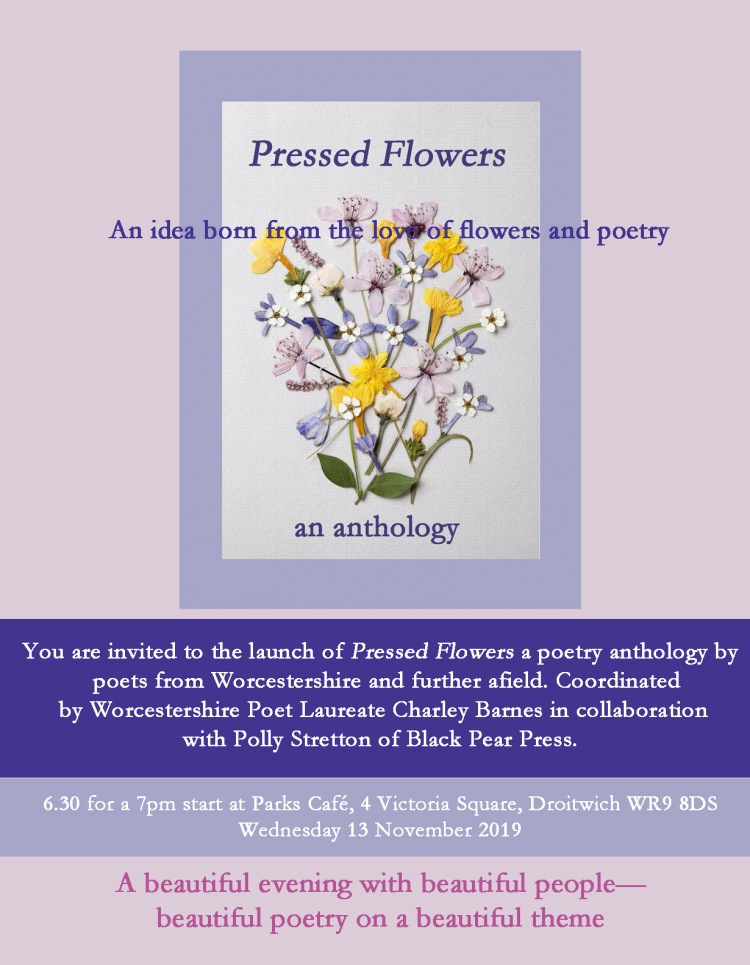 Pressed Flowers flyer