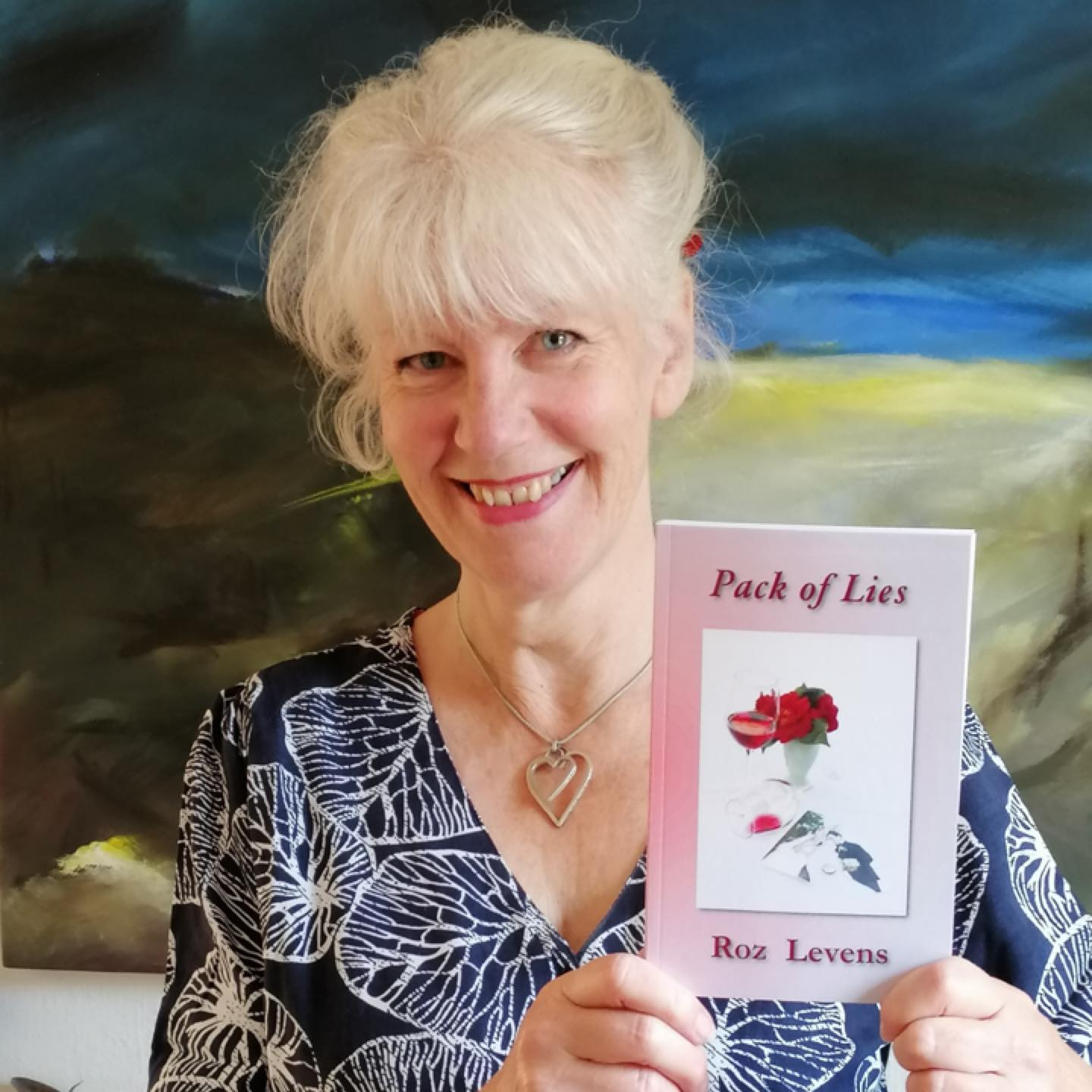Roz Levens with Pack of Lies